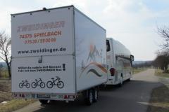 Bikeliner ZWEIDINGER BUS OMNIBUS RADREISE
